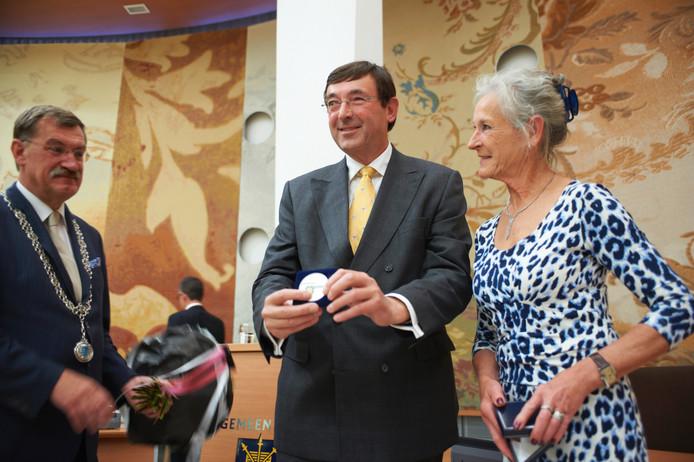 In 2012 werd Harrie Boogers geëerd door de gemeente Uden met de penning van verdienste.