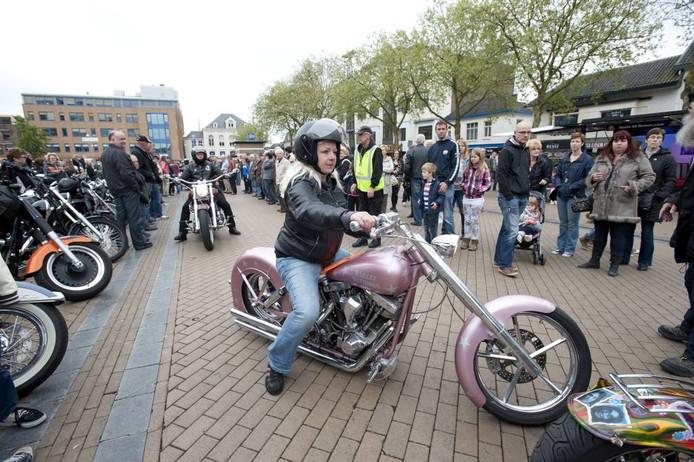 Harleydag in Apeldoorn. Foto Maarten Sprangh
