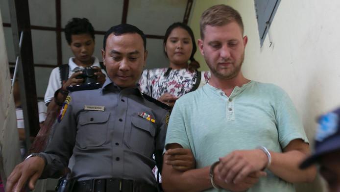 De veroordeelde Klaas H. uit Wons.