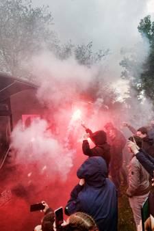 Fans door het dolle als FC Utrecht vertrekt en ook na het verlies tegen Feyenoord is er geen wanklank