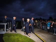Beatrix opent gloednieuw bezoekerscentrum tussen de molens van Kinderdijk