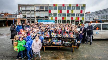 Vrije Basisschool Sint-Pieter zamelt voedingswaren in voor arme gezinnen