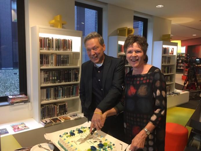 Harry van der Klink (Het Markiezaat) en Frédérique Assink (VANnU)
