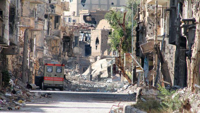 La ville de Deir Ezzor.