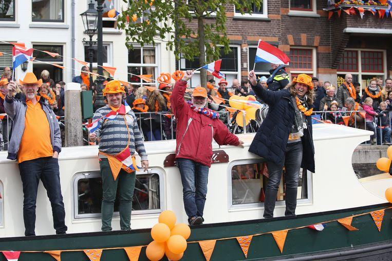 Koningsdag in Nederland Beeld Getty Images