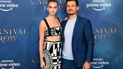 """Orlando Bloom over nieuwe reeks 'Carnival Row': """"De seksscènes met Cara Delevingne waren nogal ongemakkelijk"""""""