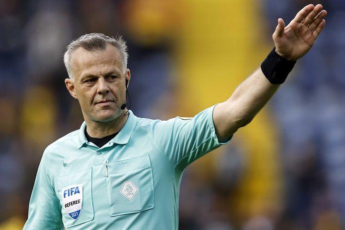 L'arbitro Bjorn Kuipers si sta preparando per il suo quinto torneo finale.