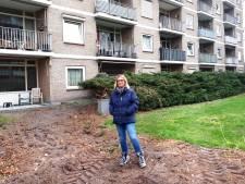 Bewoners flat in verzet tegen verwijderen van groen