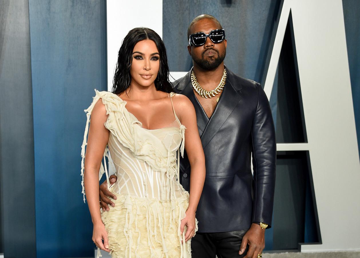 Kim Kardashian brak dit jaar met haar echtgenoot Kanye West