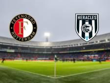 Kwakkelend Feyenoord ontvangt Heracles