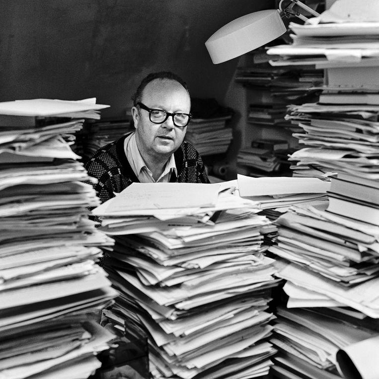Martin Ros in 1992. Beeld Harry Cock / de Volkskrant