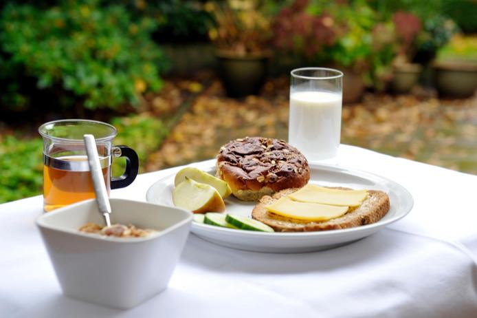 De ontbijtjes zijn geïnspireerd op de schijf van vijf.