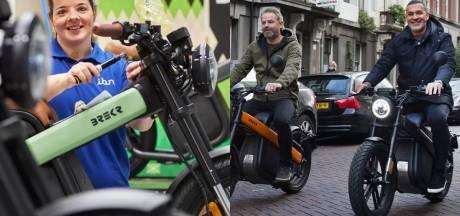 Zelfs Ruud Gullit tuft rond op hippe brommer die bij IBN in Veghel wordt gemaakt