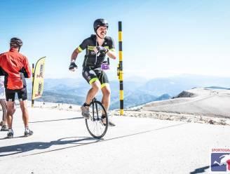 """Tom beklimt voor het eerst Mont Ventoux ... op éénwieler: """"Veel rare blikken, maar evenveel applaus"""""""