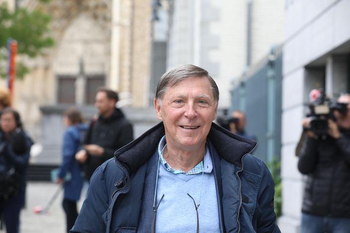 Advocaat Jef Vermassen aan de rechtbank in Tongeren.