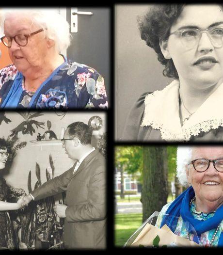 Trouwe briefschrijfster Diny Vissers leerde van de vrouw van de burgemeester voor zichzelf opkomen