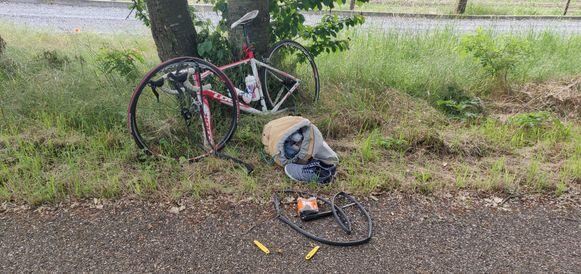 Helaas onvermijdelijk in het leven van een fietser: pech onderweg.