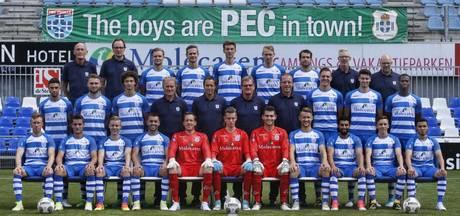 Prominenten: PEC Zwolle eindigt in het rechterrijtje