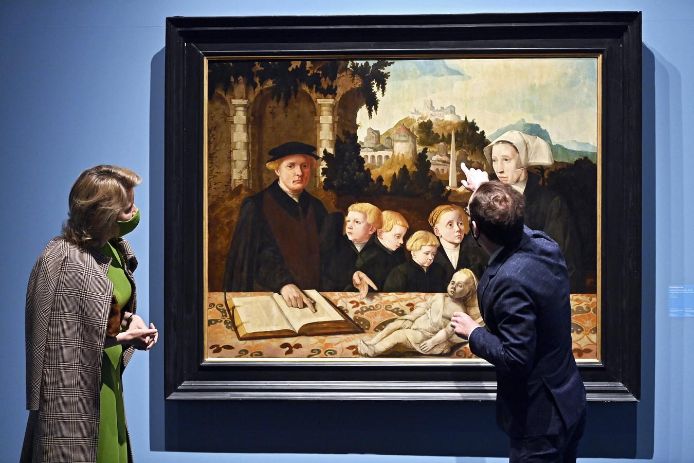 'Kinderen van de Renaissance' werd geopend door Koningin Mathilde