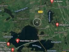 Waterschap laat 500.000.000 liter water wegstromen en zet deze polder bij Giethoorn blank