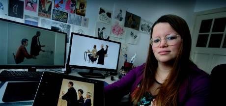Dordtse illustrator Renée maakt strips uit de rechtszaal