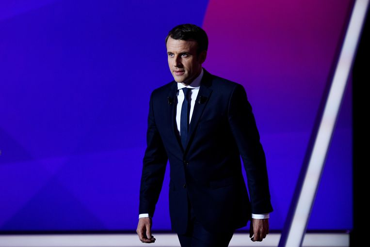 Emmanuel Macron. Beeld EPA