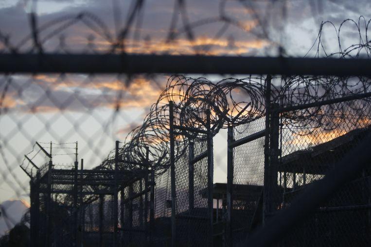 De Amerikaanse gevangenis in Guantánamo Bay op Cuba.
