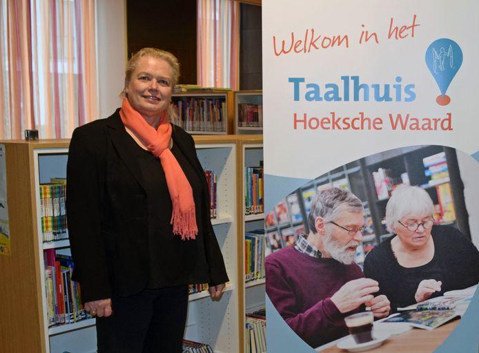 Carla Beverwijk, coördinator van het Taalhuis.