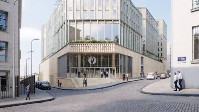 Le futur commissariat central de Bruxelles-Ixelles se dévoile