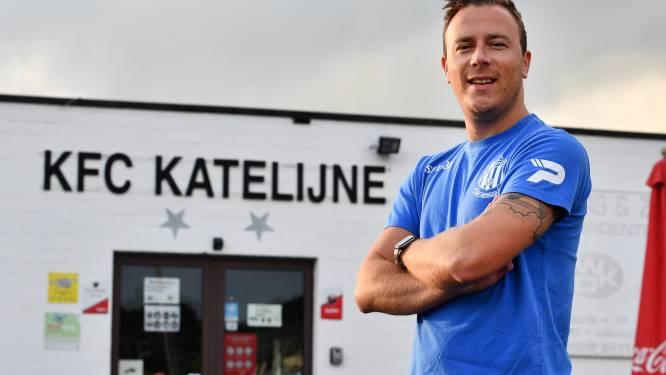 """Benjamin Van Linden (FC Katelijne) begon weer aan voorbereiding na vierde revalidatie in drie jaar: """"Stoppen voelde niet juist aan"""""""