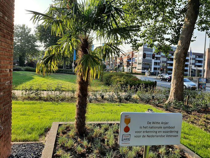 De Stichting Veteranen Hellendoorn heeft een wit anjerperkje ingericht, een 'groen monumentje' als teken van waardering voor alle veteranen in Nederland.