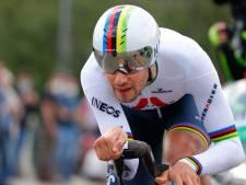Filippo Ganna premier maillot rose après sa victoire dans le chrono, Remco Evenepoel dans le top 10