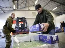 Defensie geeft levensmiddelen aan voedselbanken na afgelaste oefening