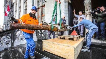 Torpedo en kanon uit WOI geleverd op Markt