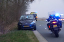 Fietser gewond tussen Rouveen en Zwartsluis.
