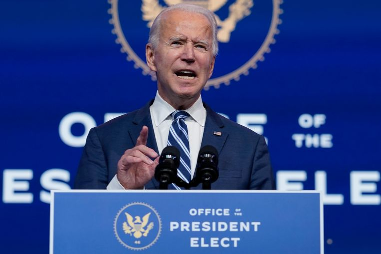 President-elect Joe Biden. Beeld AP
