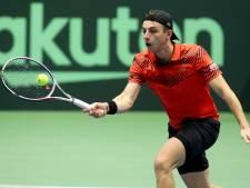Griekspoor verliest en loopt plaatsing voor ABN Amro World Tennis Tournament mis