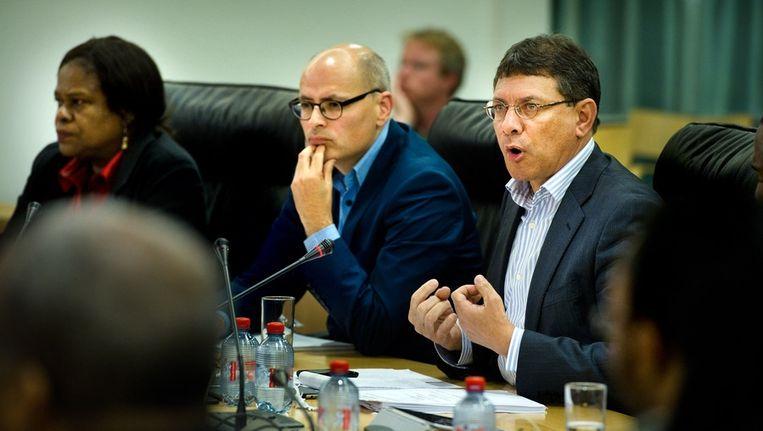 Marcel La Rose in juni tijdens een toespraak Beeld Klaas Fopma www.klaasfopma.nl