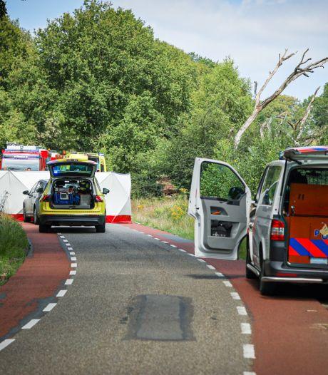 Fietser (80) overleden na eenzijdig ongeval op Posbank
