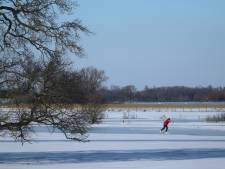 Waterschap waarschuwt om niet te schaatsen op de uiterwaarden: 'Hartstikke link'