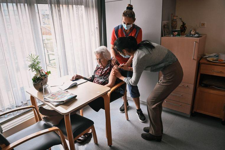 België is maandag begonnen met vaccineren. Beeld BELGA