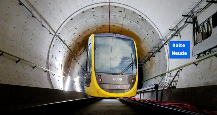 Een tunnel graven met een tunnelboormachine levert volgens technicus Martijn Leijten de minste risico's op, maar is wel zeer kostbaar.