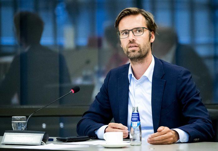 Sjoerd Sjoerdsma van D66 ziet politiek en gamen wel samengaan. Het is volgens hem een handige manier om in contact te komen met de doelgroep die je normaal gesproken misschien niet bereikt.