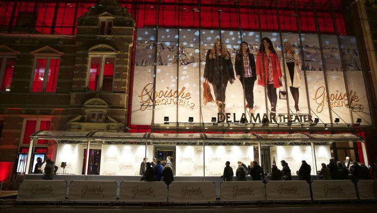 De première van Gooische Vrouwen 2 in het DeLaMar Theater. Beeld anp