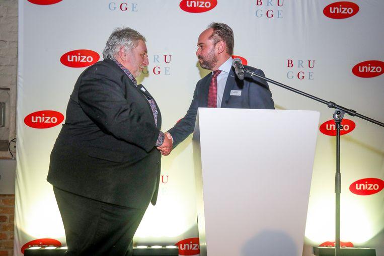 Brugge: unizo huldigt André Snauwaert