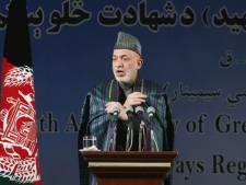 Karzaï d'accord pour des négociations talibans-Etats-Unis