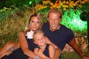 Jos van Eck met zijn vrouw Lindsey en dochter Abbygail.
