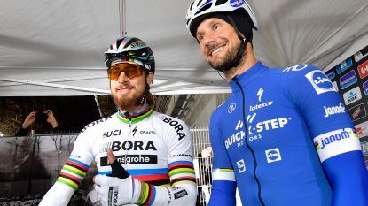 Sagan laat in reactie zien dat hij na uitspraak van Boonen nog steeds liefde heeft voor de ex-wielrenner