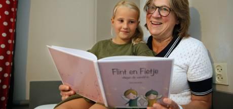 Rieta uit Staphorst zweeft weg naar de binnenkant van haar ogen voor haar eerste kinderboek