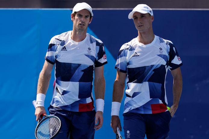 Andy Murray en Joe Salisbury.